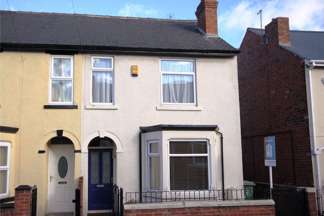 Thumbnail Semi-detached house to rent in Allcroft Street, Mansfield Woodhouse, Nottinghamshire