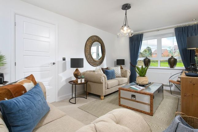 """Thumbnail Detached house for sale in """"Fircroft"""" at Newton Lane, Wigston"""