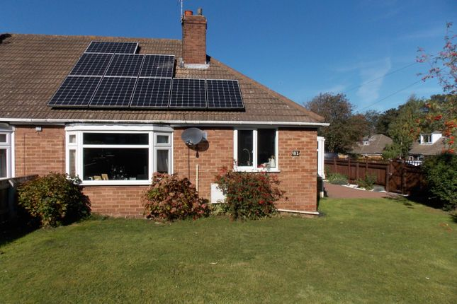 Thumbnail Semi-detached bungalow for sale in Station Road, Healing, Grimsby
