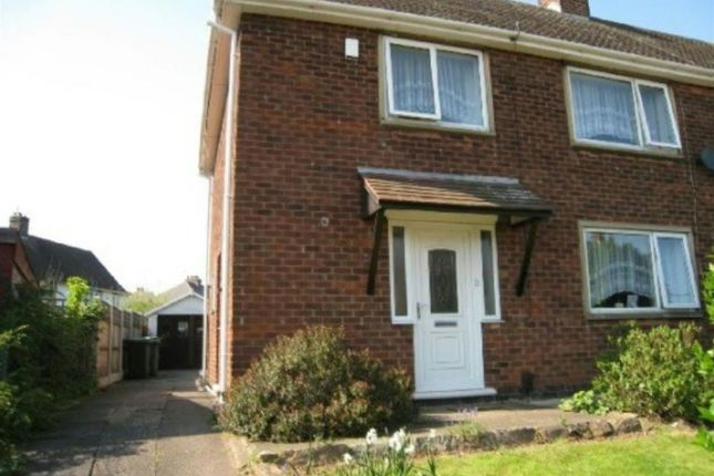 Thumbnail Semi-detached house to rent in Rossell Drive, Stapleford, Nottingham