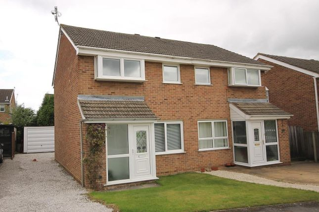 Thumbnail Semi-detached house for sale in Butterton Drive, Chesterfield