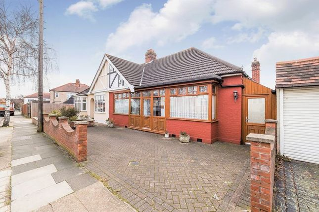 Thumbnail Semi-detached bungalow for sale in Ashmour Gardens, Rise Park, Romford