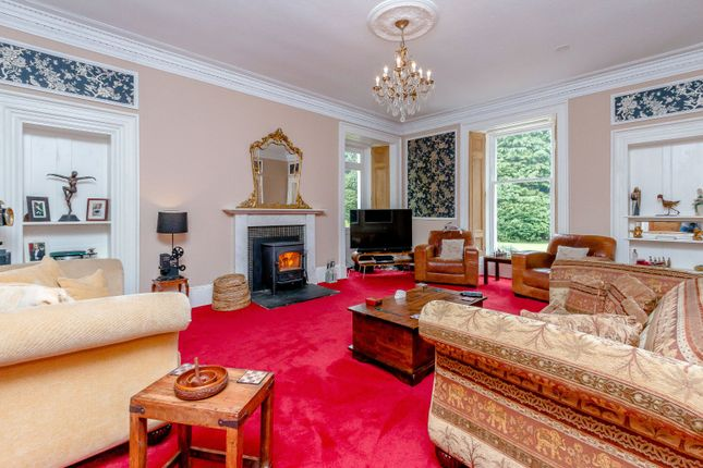 Drawing Room of Linden Park, Auchterarder, Perthshire PH3