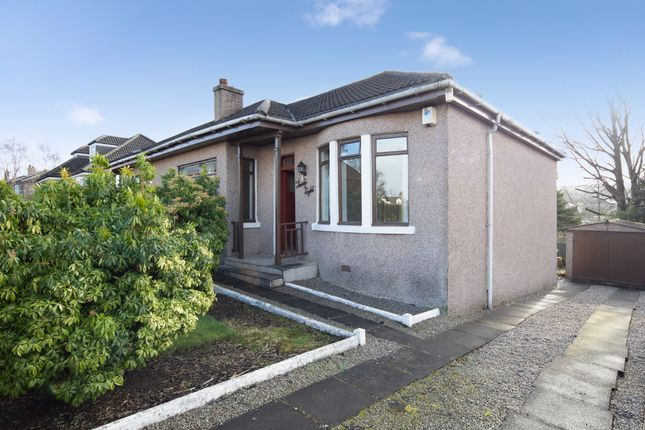 Thumbnail Semi-detached bungalow for sale in 38 Greystone Avenue, Burnside