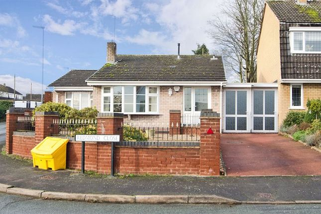 Thumbnail Detached bungalow to rent in Redmond Close, Rugeley