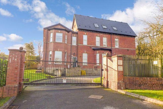 Entrance of Neilston Rise, Lostock, Bolton BL1