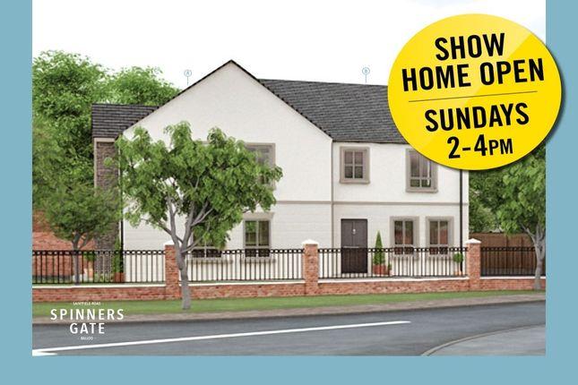 Thumbnail Semi-detached house for sale in Saintfield Road, Killinchy, Newtownards