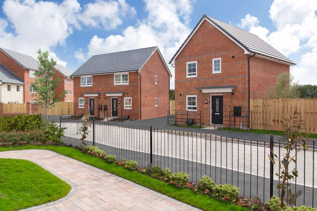 "Thumbnail Detached house for sale in ""Folkestone"" at Lightfoot Lane, Fulwood, Preston"