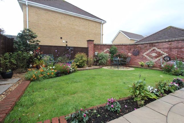 Rear Garden of Cilgant Y Meillion, Rhoose, Barry CF62