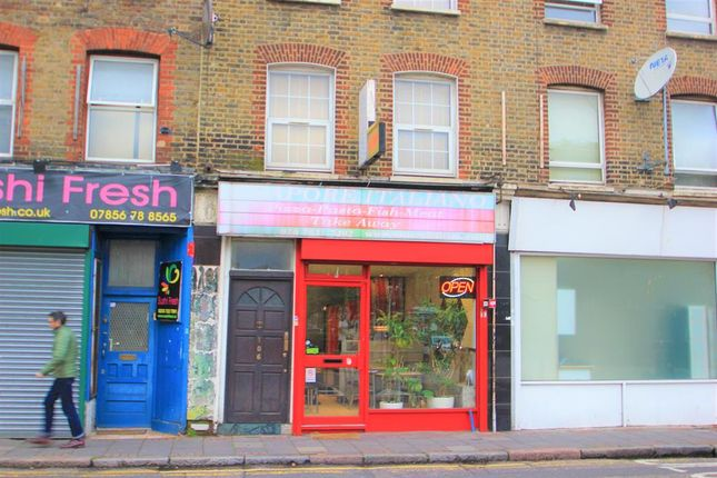 Thumbnail Commercial property for sale in Salmon Lane, London