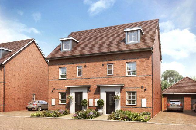 Thumbnail Semi-detached house for sale in Hanworth Lane, Chertsey