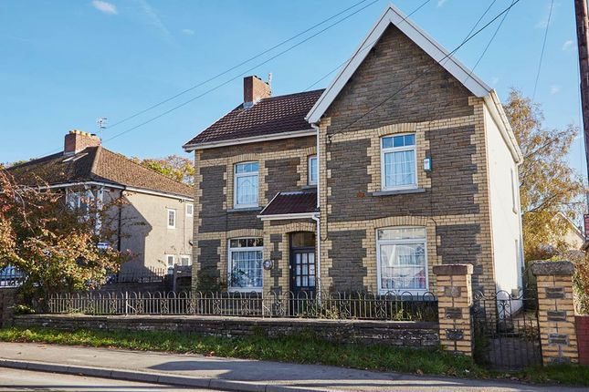 Thumbnail Detached house to rent in Gelligaer Road, Trelewis, Treharris