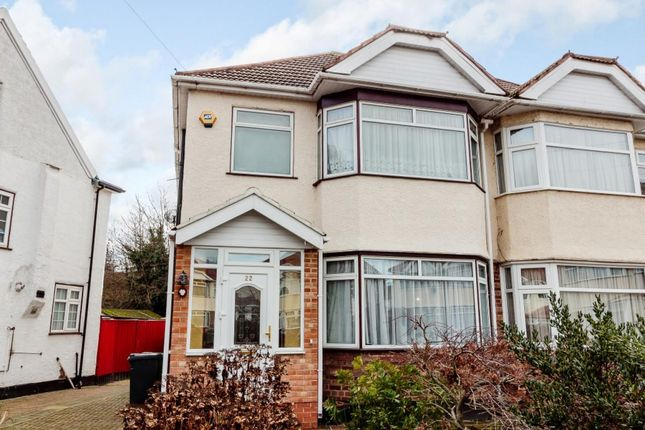 Thumbnail Semi-detached house to rent in Morland Gardens, Southall