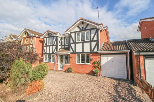 Thumbnail Detached house for sale in Orwell Close, Galley Common, Nuneaton