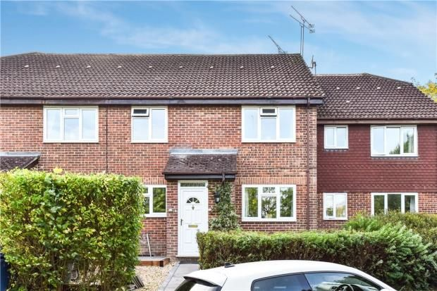 Thumbnail Terraced house for sale in Thornfield Green, Hawley, Camberley