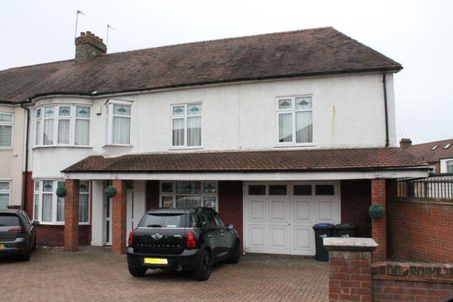 Thumbnail End terrace house for sale in Dorchester Avenue, London