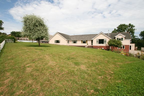 Thumbnail Detached bungalow for sale in Shillingford, Tiverton