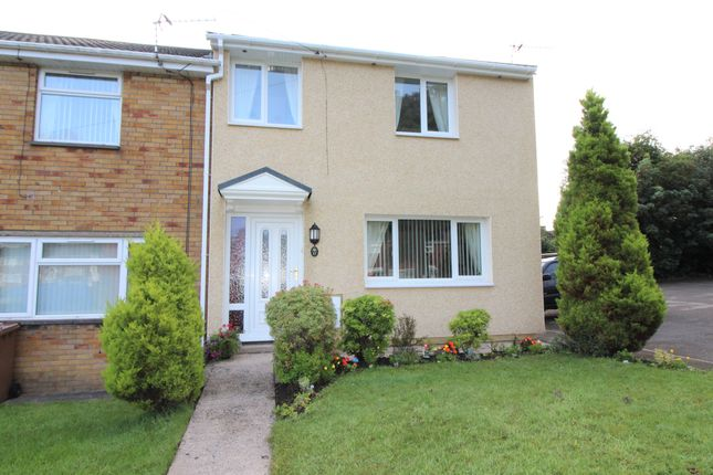 Thumbnail End terrace house for sale in Apollo Way, Blackwood