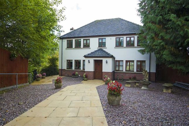 Thumbnail Detached house for sale in The Courtyard, Off Mount Street, Welshpool