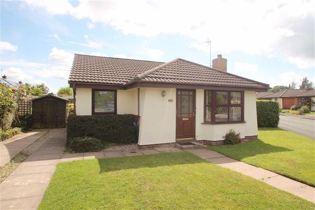Thumbnail Detached bungalow to rent in Ambleside Road, Oswestry