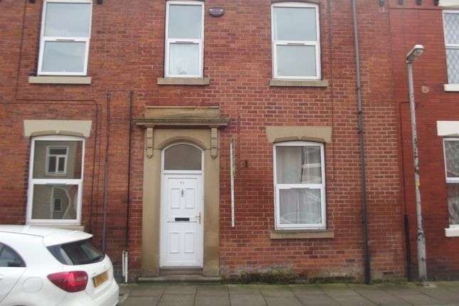 Thumbnail Terraced house to rent in Trafford Street, Preston