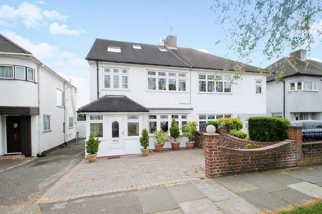 Thumbnail Semi-detached house for sale in Whitegate Gardens, Harrow Weald, Harrow