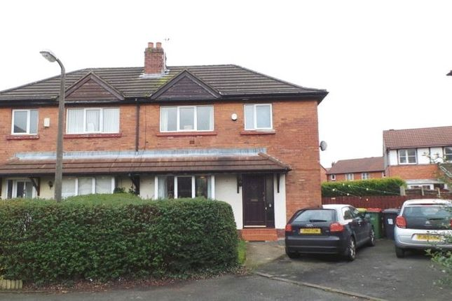 Thumbnail 3 bed semi-detached house for sale in Village Drive, Ribbleton, Preston