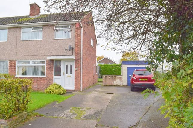 Thumbnail Semi-detached house for sale in Cavalier Drive, Blacon, Chester