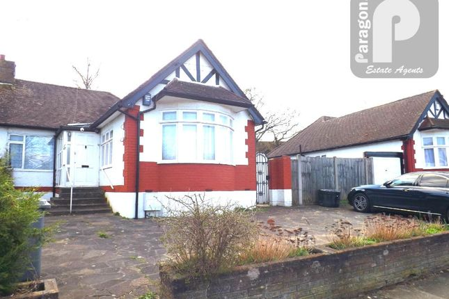 Thumbnail Bungalow to rent in Forty Close, Wembley Park