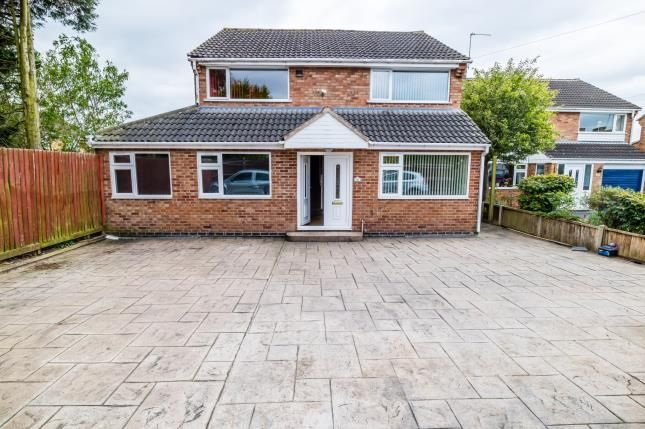 Thumbnail Detached house for sale in Tilton Drive, Oadby, Leicester, Leicestershire