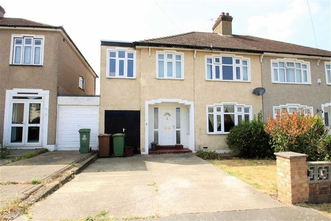 Thumbnail Semi-detached house to rent in Luddesdon Road, Erith, Kent