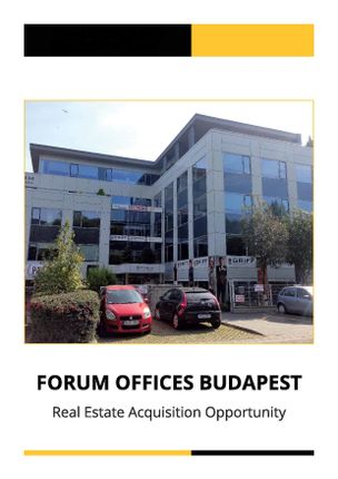Thumbnail Office for sale in Bécsi Ut, Hungary