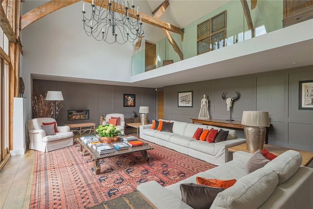 Thumbnail Barn conversion for sale in Three Houses Lane, Codicote, Hitchin, Hertfordshire