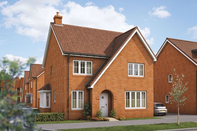 """Thumbnail Detached house for sale in """"The Aspen"""" at Maddoxford Lane, Botley, Southampton"""