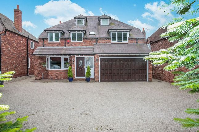 Thumbnail Detached house for sale in Sketchley Hall Gardens, Burbage, Hinckley
