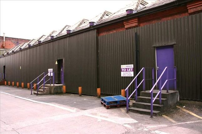 Serviced office to let in Halliwell Industrial Estate, Rossini Street, Bolton