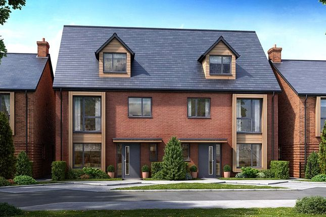 Thumbnail Semi-detached house for sale in Exeter Road, Topsham, Devon