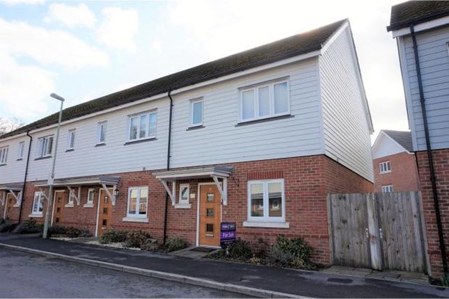 Thumbnail Terraced house to rent in Willowbourne, Fleet