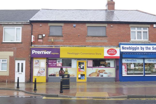 Thumbnail Commercial property for sale in Front Street, Newbiggin-By-The-Sea