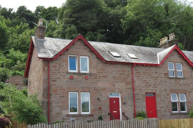 Thumbnail End terrace house for sale in Hill Terrace, Dingwall