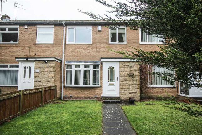 Thumbnail Terraced house to rent in Kirkbride Place, Eastfield Dale, Cramlington