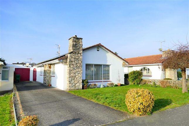 Thumbnail Detached bungalow for sale in Downland Road, Curzon Park, Calne