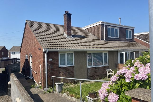 Thumbnail Semi-detached bungalow to rent in Brookside Close, Port Talbot, Neath Port Talbot.