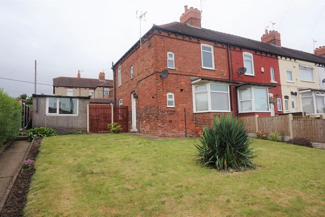 Thumbnail End terrace house for sale in Central Drive, Shirebrook, Mansfield