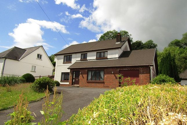 Thumbnail Detached house for sale in Bronwydd Arms, Carmarthen, Carmarthenshire.