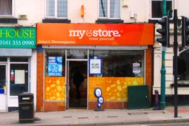 Thumbnail Retail premises for sale in Stockport SK1, UK