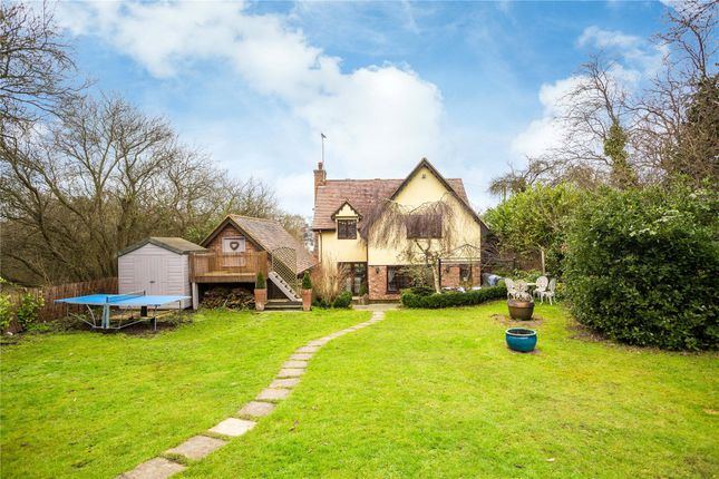 Thumbnail Detached house for sale in Lower Road, Mountnessing, Brentwood, Essex