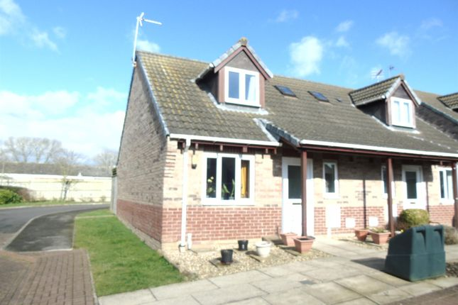 Thumbnail Semi-detached house for sale in Rooks Close, Saxilby, Lincoln