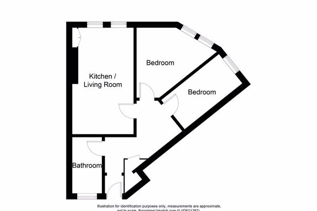 Floor Plan of Ramsay Road, Kirkcaldy KY1