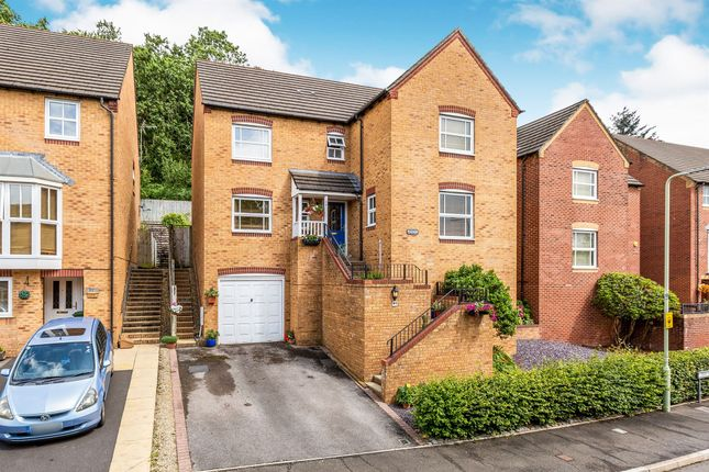 Thumbnail Detached house for sale in Dan Y Graig Heights, Talbot Green, Pontyclun